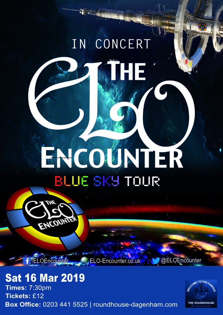 Roundhouse Dagenham - ELO Encounter Tribute