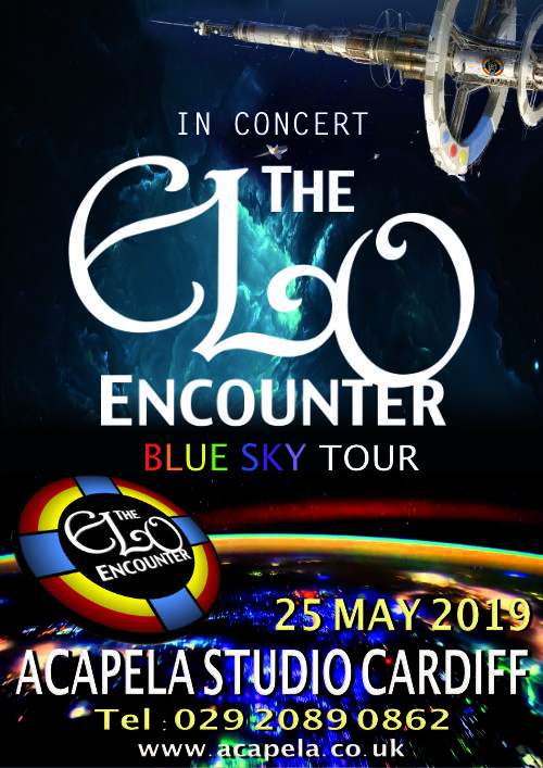 Acapela Studio Cardiff - 2019 - ELO Encounter Tribute
