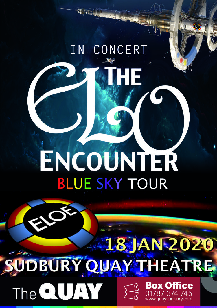 Sudbury Quay Theatre - 2020 - ELO Encounter Tribute