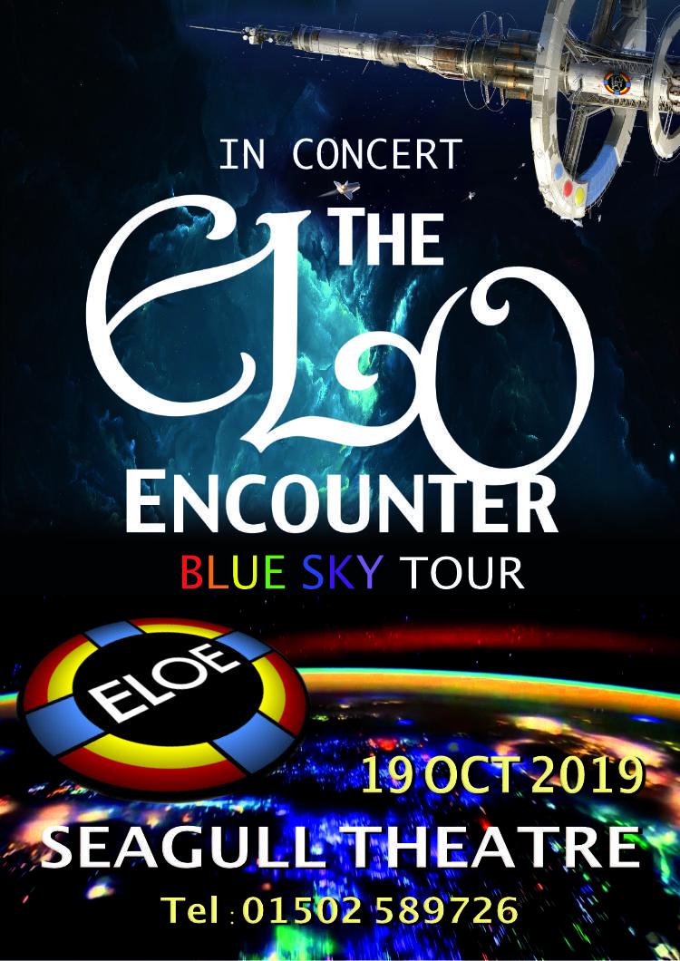 Seagull Theatre Lowestoft 2019 - ELO Encounter Tribute