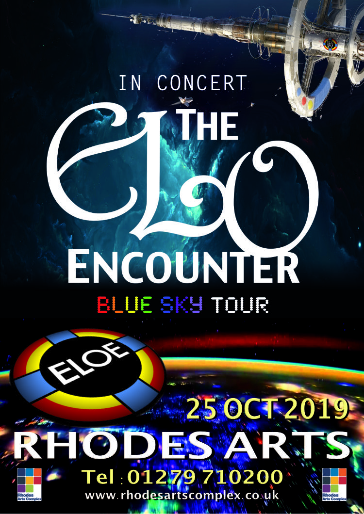 The Rhodes 2019 - ELO Encounter Poster