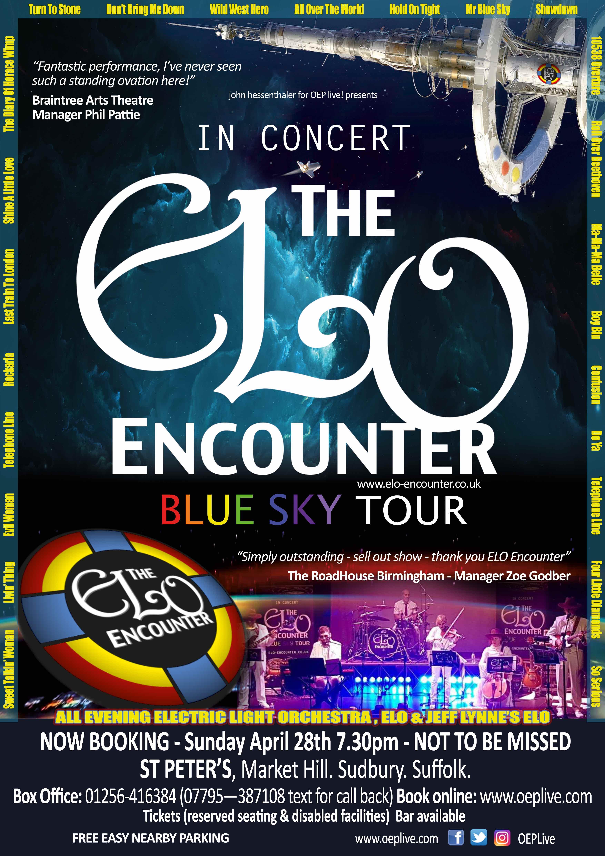 ELO Encounter Tribute - St Peters - Sudbury