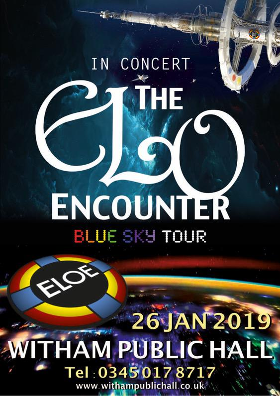 Witham Public Hall 2019 - ELO Encounter Tribute