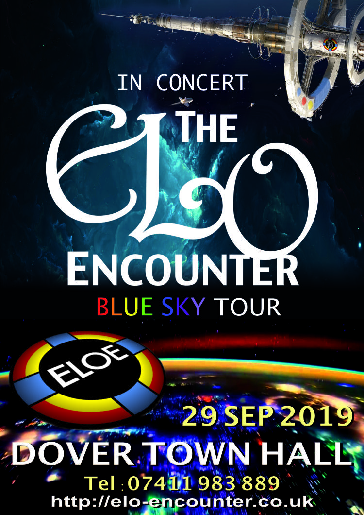 Dover Town Hall - 2019 - ELO Encounter Tribute