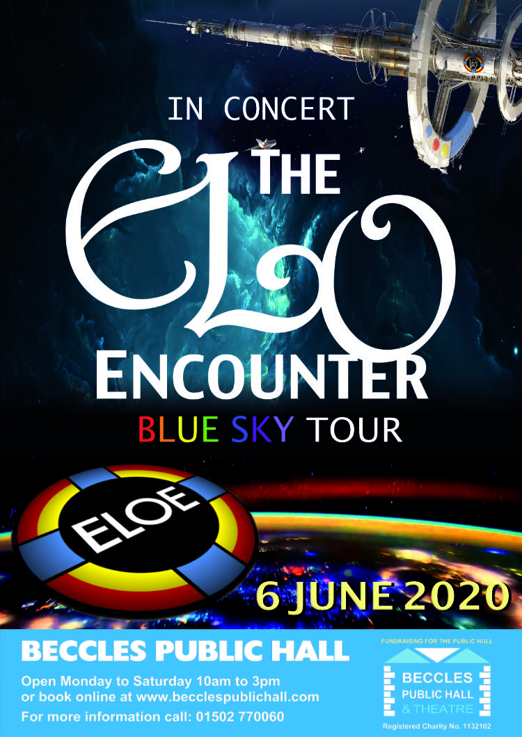 Beccles Public Hall - 2020 - ELO Encounter Tribute