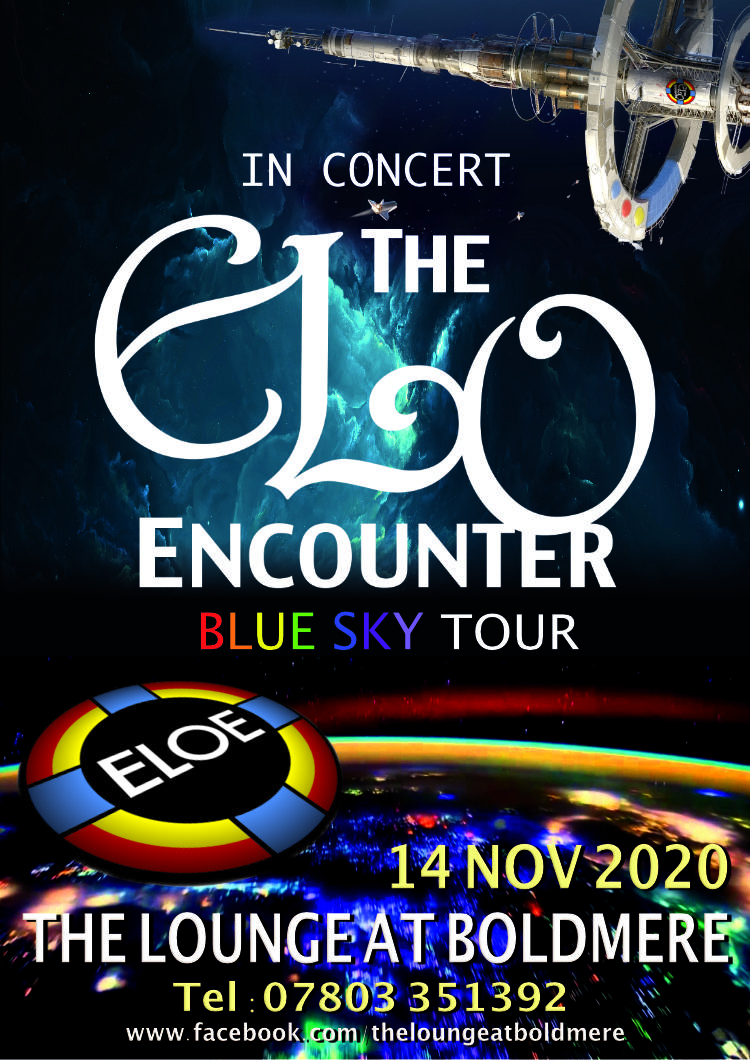 Lounge at Boldmere - November 2020 - ELO Encounter Tribute