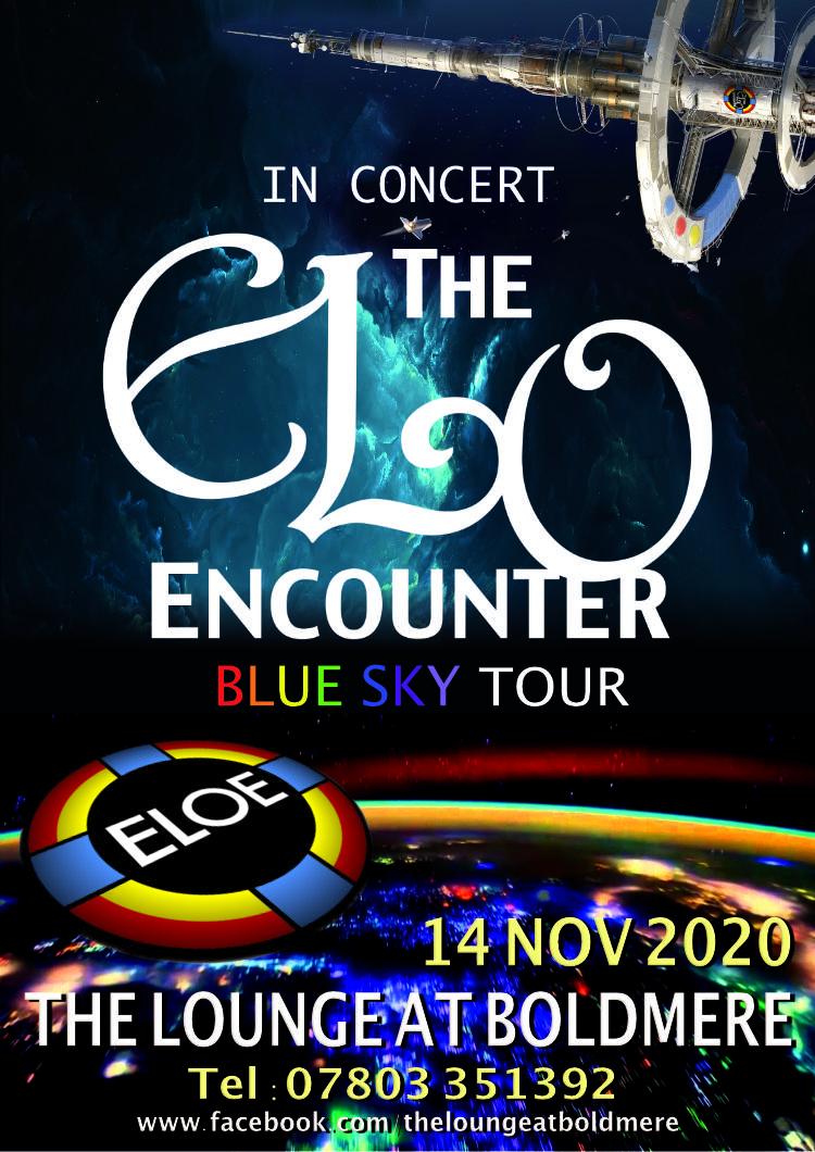 Lounge at Boldmere - November 2020 - ELO Encounter Tribute