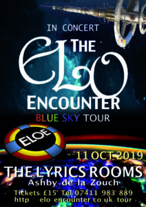 The Lyrics Rooms - 2019 - ELO Encounter Tribute