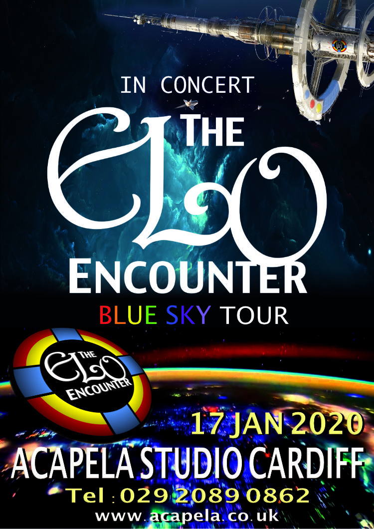 Acapela Studio Cardiff - 2020 - ELO Encounter Tribute