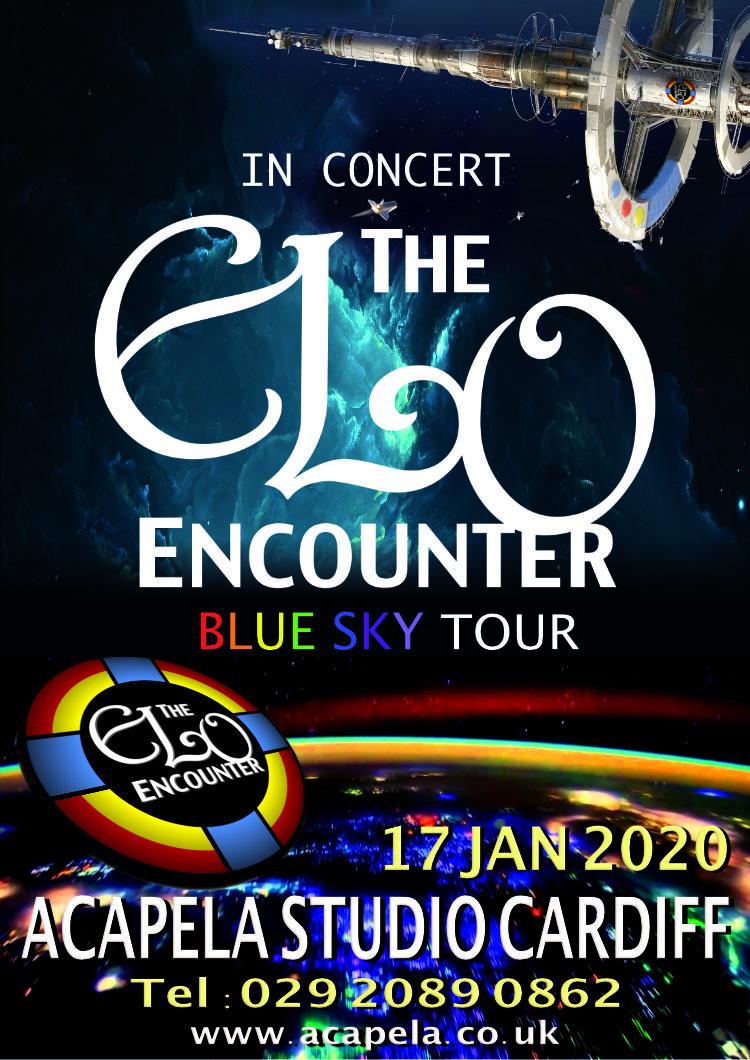 Acapela Studio Cardiff - 2020 - ELO Encounter Tribute