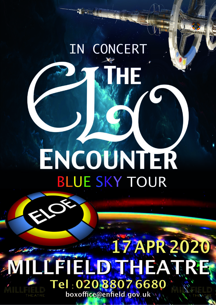 Millfield Theatre - 2020 - ELO Encounter Tribute